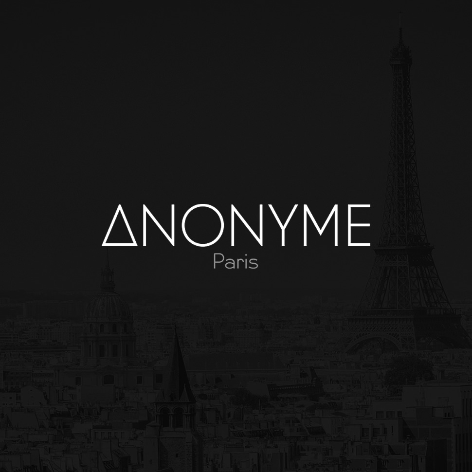 site internet e-shop vitrine Anonyme Paris