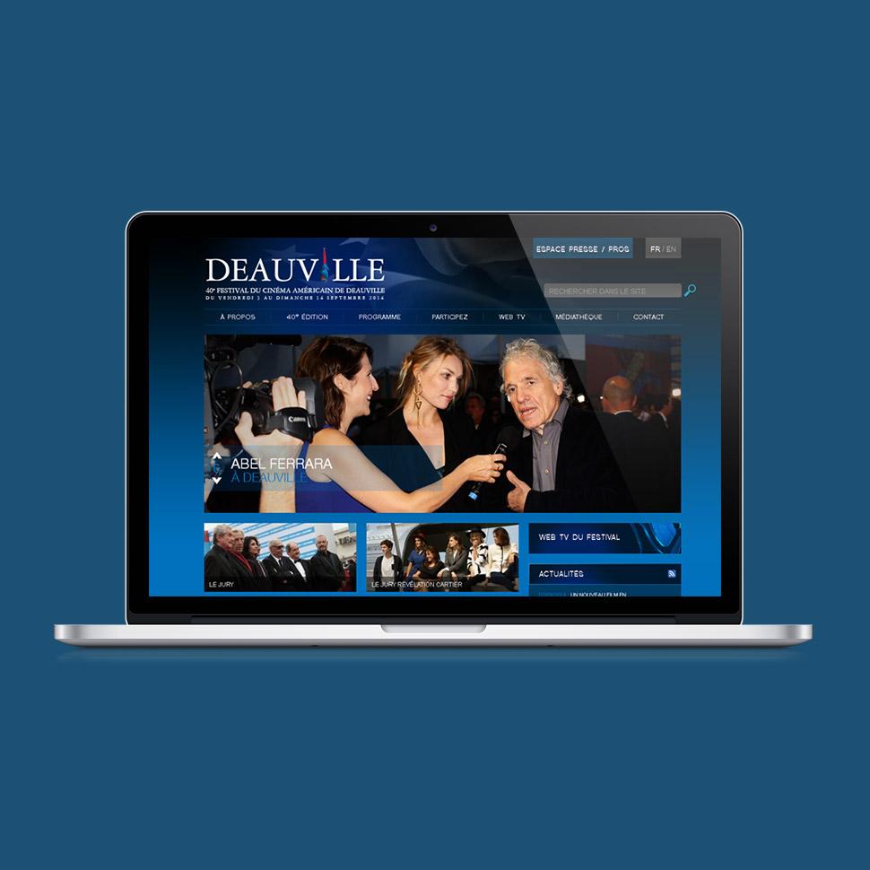 site internet du festival du film américain de deauville