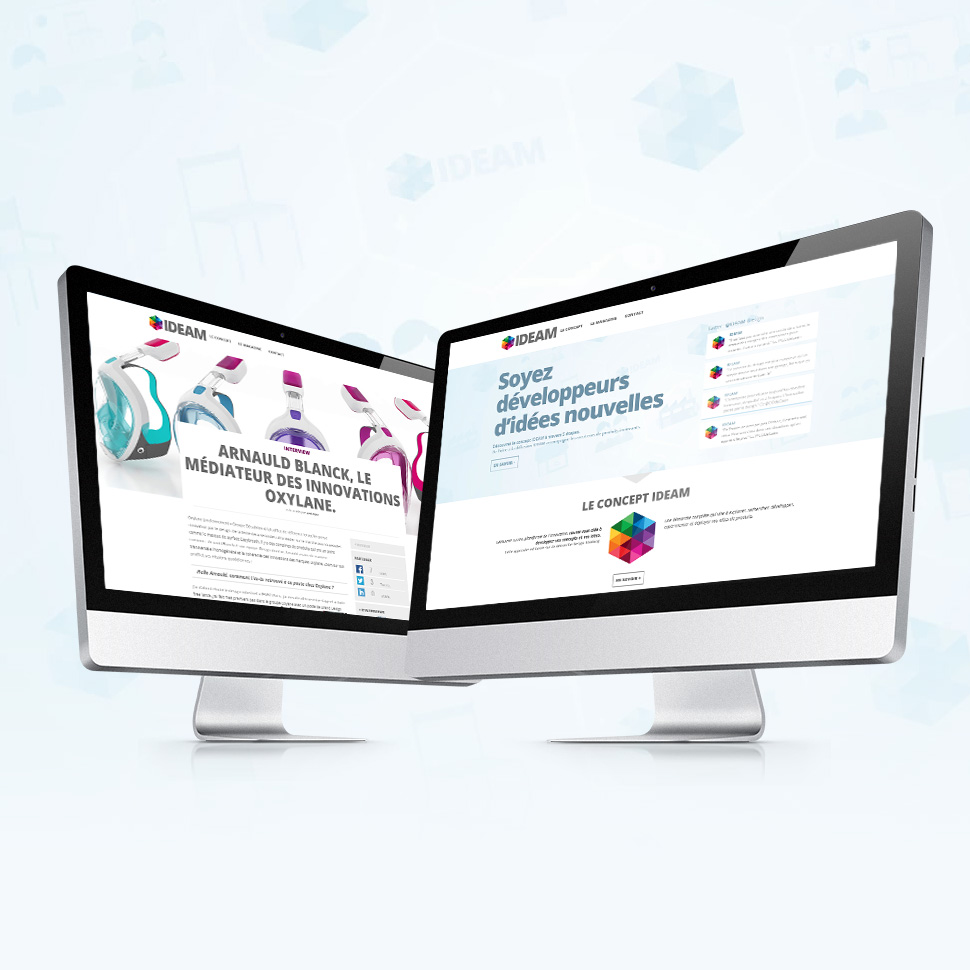 ideam design site web designers