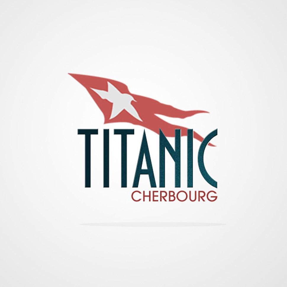 site internet identité graphique titanic cherbourg cité de la mer