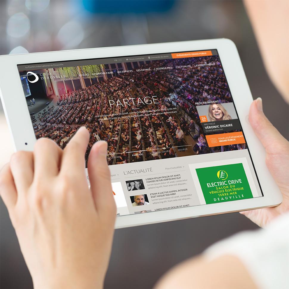 site internet du centre international de deauville