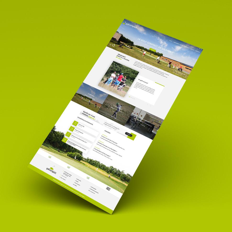 Highfive Agence web Caen - Golf de Louvigny